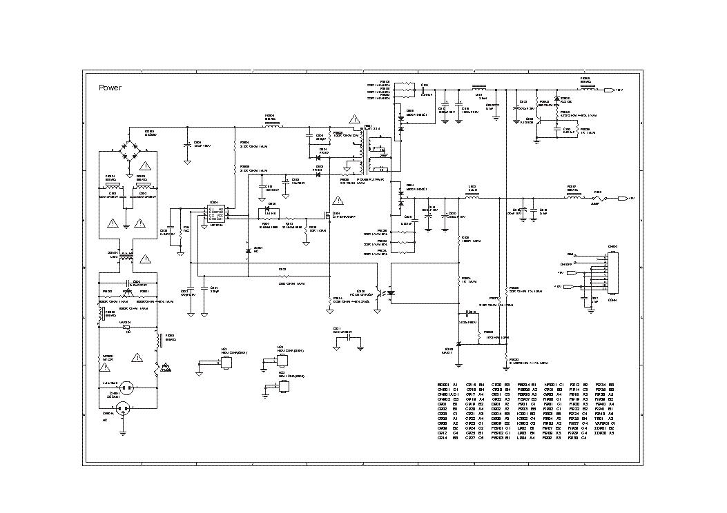 OEM 715T2476-1 AM9945N OZ9938GN LCD INVERTER SCH Service